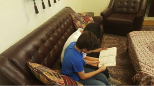 My kids reading Quran