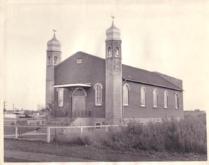 Canada's first mosque, on Treaty 6 territory. [Source].